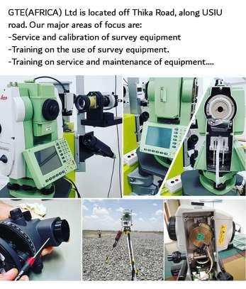 Calibration of surveying instruments image 1