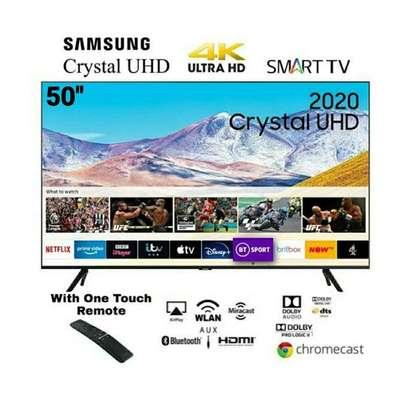 50 inch Samsung Smart Crystal UHD 4K Frameless TV - Alexa, Voice Command, Bluetooth - UA50TU8000 image 2