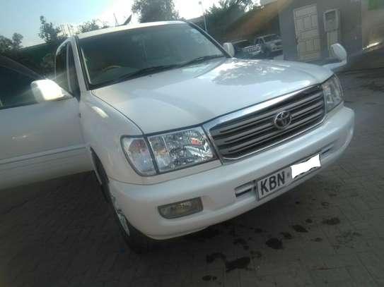 Toyota Land Cruiser 2006 100 4.7 Executive White