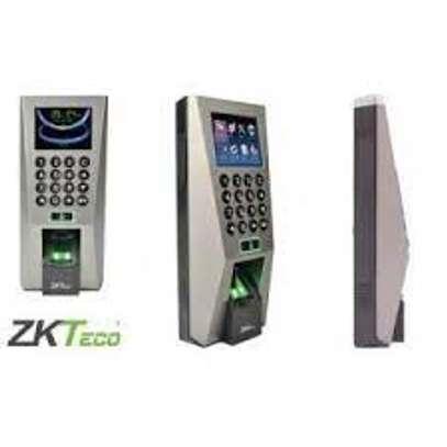 Zkteco f18 time attendance finger biometrics image 1