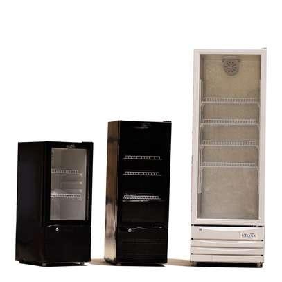 Upright glass door drinks chiller SC-260 image 1