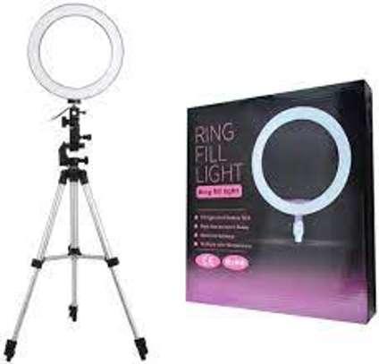 Ring Fill Light  LED & Tripod Stand image 1