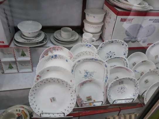Redberry plate/dinner  plate/ceramic plate image 2
