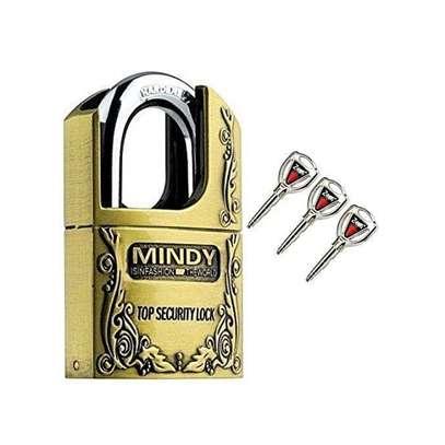Mindy Security Vintage Padlock- 40mm 50mm 60mm image 2