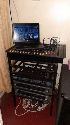 PA Public Address System, Amp, Crossover Mixer Speaker
