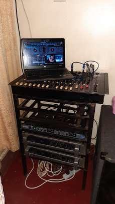 PA Public Address System, Amp, Crossover Mixer Speaker image 1