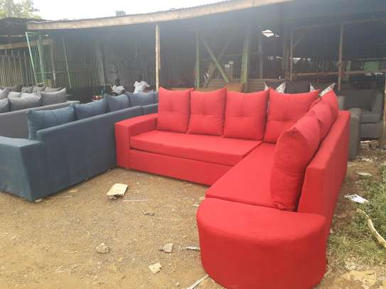 6 Seaters L Shape Sofa image 1