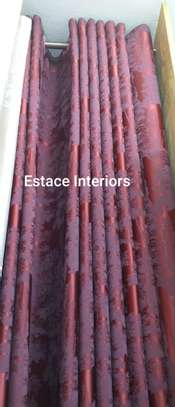 Matched curtains and sheers image 10
