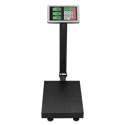 300KG Heavy Duty LCD Digital Floor Postal Parcel Platform Scales image 2