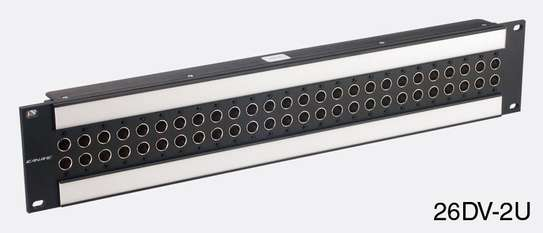Canare 24DV-2U 2x24 Digital Video Patchbay (2U)