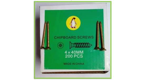ChipBoard Screws 200 Pcs