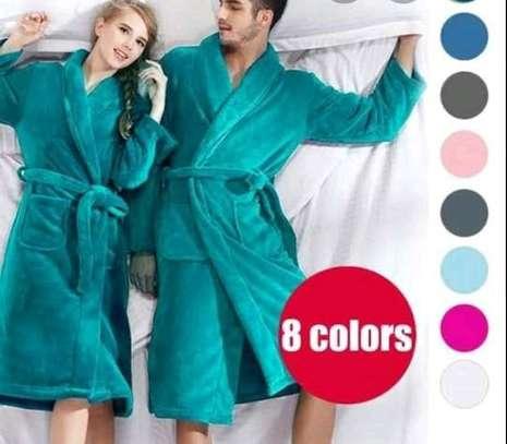Quality adult bathrobes image 1