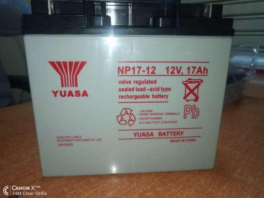 yuasa battery in kenya 12v 17 AH IN KENYA image 1