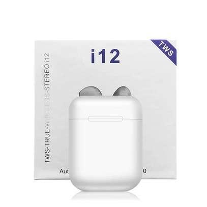 i12 TWS Airpods wireless Bluetooth Earphone Bluetooth 5.0 Earbuds sport Headset image 9