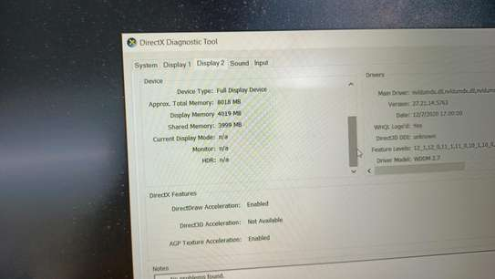 Hp Omen 15 intel Core i7 8th generation 12 cpus 8gb ram 1tb hdd 4gb Nvidia geforce gtx 1030 dedicated graphics image 3