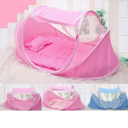 Portable baby bed/nest, Folding Baby Crib Mosquito net