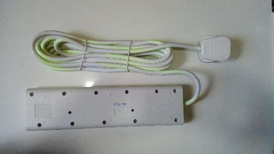 4 Way Electrical Power Extension - 5 Metres image 2