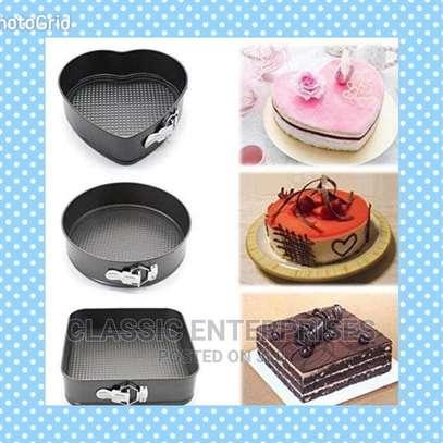 3 Pcs Shape Cake Moulds image 1
