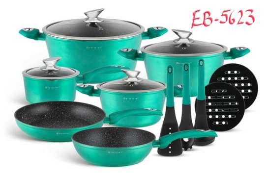 15pcs Cookware set image 5