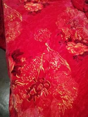 Fleece blankets and warmers image 2