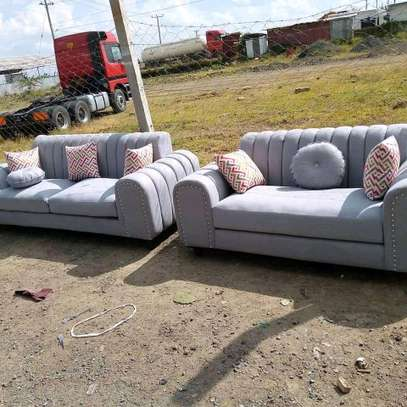 Beautiful Channel/Welted 5 Seater Sofa image 1