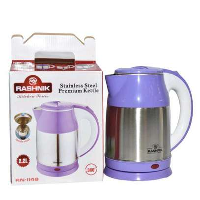 Stainless steel premium kettle. 2.2 litres. image 1