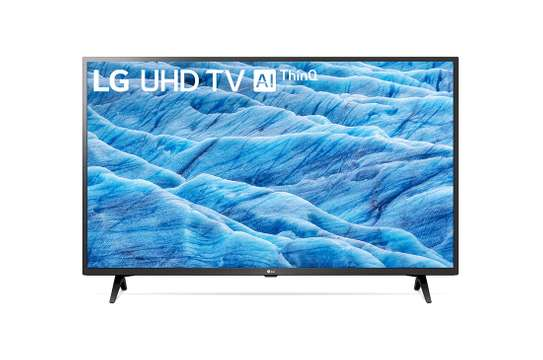 LG UHD TV 43 inch 4K Active HDR Smart LED TV w/ ThinQ AI image 1
