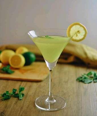 6pcs Martini Cocktail Glasses image 1
