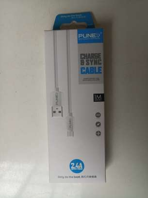 Punex Premium Quality Type-C USB Cable for Charging and Data Transfer 2.4A 1M image 2