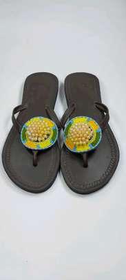 New designes Handcrafted ladies sandal , custom designed & made to last ?. image 1