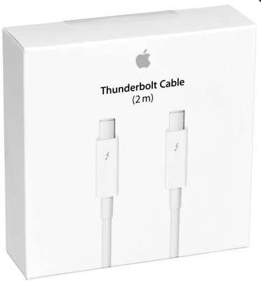Genuine Apple Thunderbolt cable (2.0 m) image 1