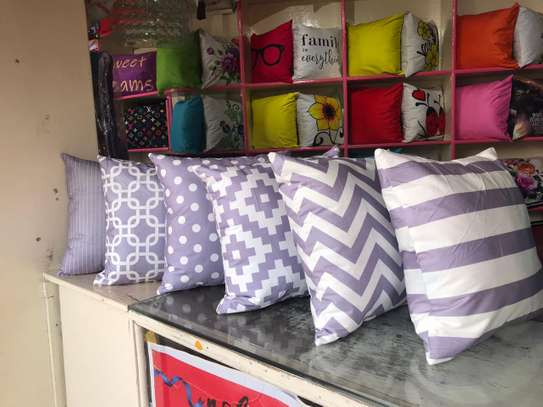 Egyptian Throw Away Pillow Covers image 1