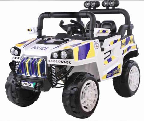 Baby Electric Police Car image 1