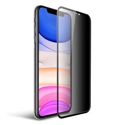 iPhone 11/XR Privacy Tempered Glass Screen Protector image 1