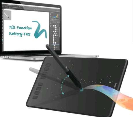 HUION H950P Graphics Pen Tablet with Battery-Free Pen & Tilt image 9