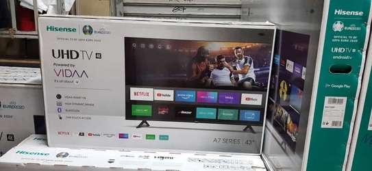43 inch hisense 4k frameless tv image 1