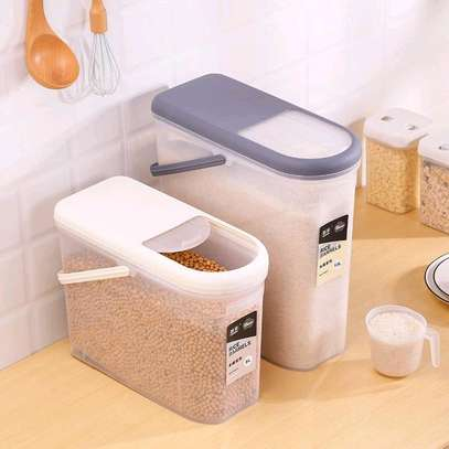 Cereal containers - 8 &10 litres image 1