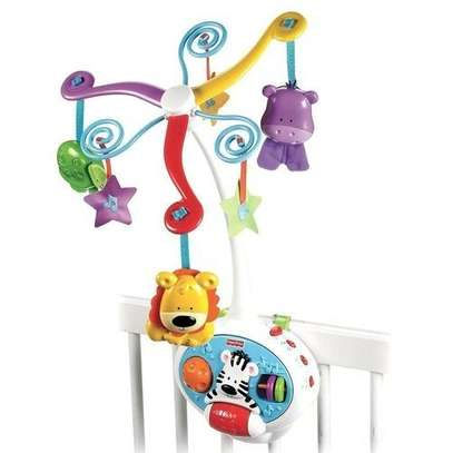 2-in-1-activity-friends-Baby COT/Baby Crib toys image 1