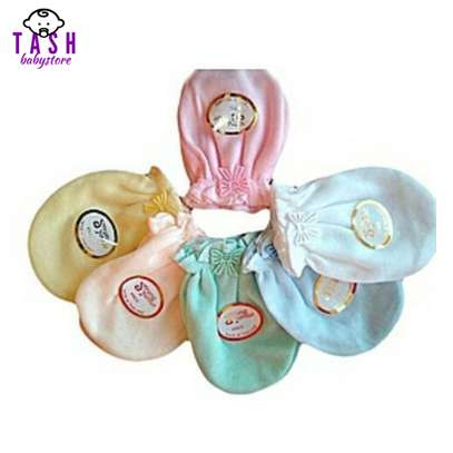 Fashion Unisex Baby Mitten Assorted Colors 12 Pairs image 1