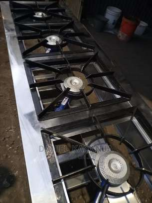 Stainless Steel Gas Burners image 1