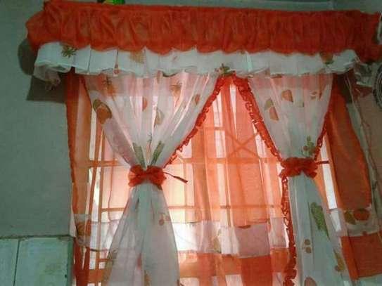 Beautiful kitchen curtains image 6