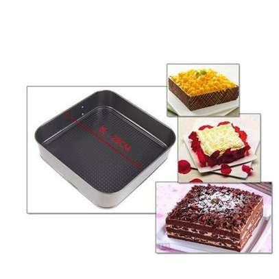 3pcs-bottom Buckle Cake Mold Non-stick image 6