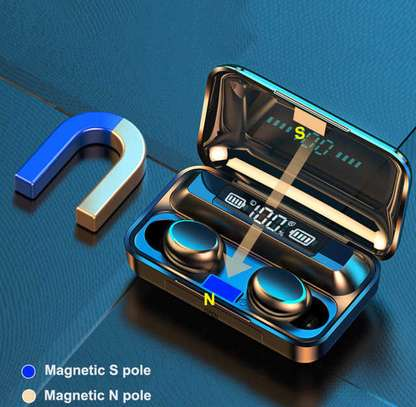 Waterproof Wireless Earbuds With Charging Case for Phones image 5