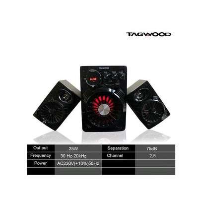 Multimedia speaker with Bluetooth image 1