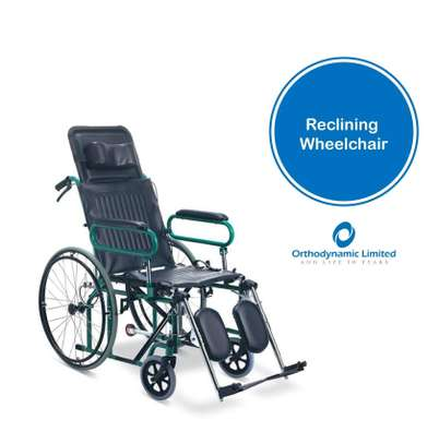 Standard commode wheelchair image 8