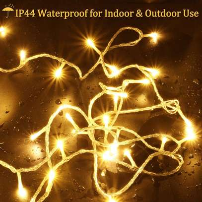 airy Lights for Indoor Outdoor Decoration Warm White image 1