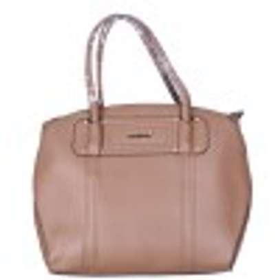 Stylish 3 piece Brown Hand Bag image 2