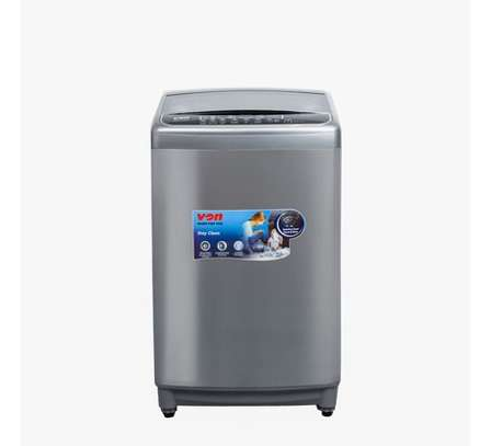 Von VALW-07TSX Top Load Washing Machine,7KG - Stainless Steel