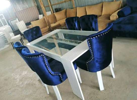 6 seater classic dining image 1