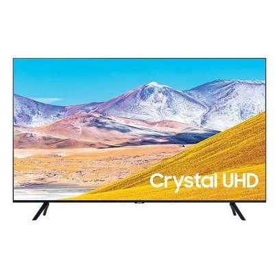 """Samsung 55TU8000 55"""" Crystal UHD 4K Smart TV - 2020 Model -Black-Mid Month Deals image 1"""
